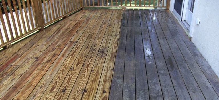 wood deck cleaning, pressure washing, before and after, Brick patios, wood patios, stone patios, tiled patios, concrete patios, pressure washed and pressure cleaned, remove algae, mold, mildew, dirt, moss, lichens, oil, grease, Chappaqua, Scarsdale, Pound Ridge, Katonah, White Plains, Bedford, Bedford Hills, Rye, Armonk, Westchester County, Putnam County, Dutchess County- Licensed and Insured Pressure Washing and Roof Cleaning Business- Westchester Power Washing 914-490-8138 - Free Roof Cleaning and Pressure Washing Estimates