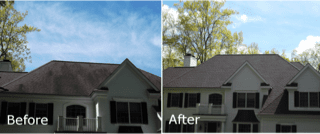pleasantville, roof pressure washing, roof washing in Chappaqua