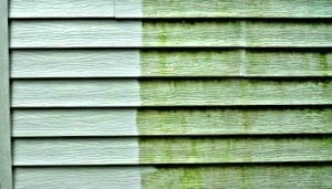 Vinyl siding pressure washing, siding soft wash, house washing, soft house washing, power washing