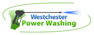 pressure washing, soft roof washing, vinyl siding, Logo for Westchester Powerwashing
