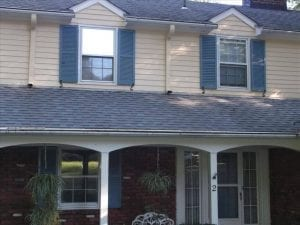 Front Picture of House cleaned by Westchester Powerwashing, pressure washed, roof shampoo, roof soft washed