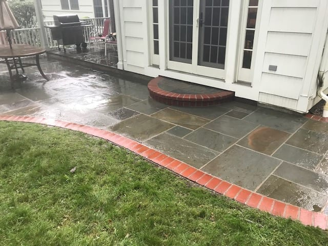 walkway pressure washing