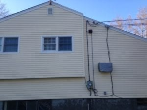 Somers roof, house and siding cleaning- roof shampoo, soft washing- Westchester Power Washing