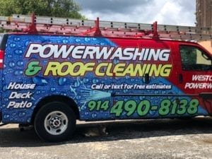 White Plains, Katonah Roof and house pressure washing, insured, westchester power washing