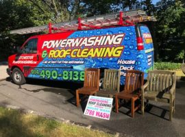 Pleasantville Roof & House Soft Washing